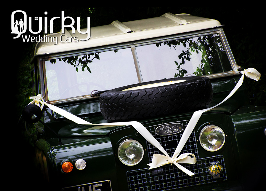 Classic Land Rover Wedding Car Hire