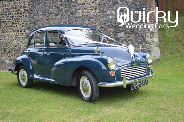 BLUEBELL - 1970 Morris Minor Four Door Saloon Wedding Car