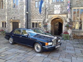 HENRY - 1995 Royal Navy Blue Rolls Royce Silver Spur III Wedding Car