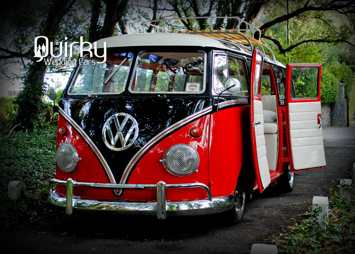 ABIGAIL - 1963 VW Samba Wedding Camper Van