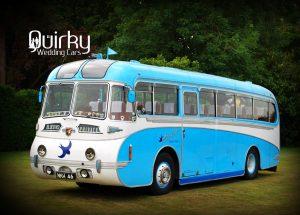 BlueBird Leyland Tiger Wedding Car