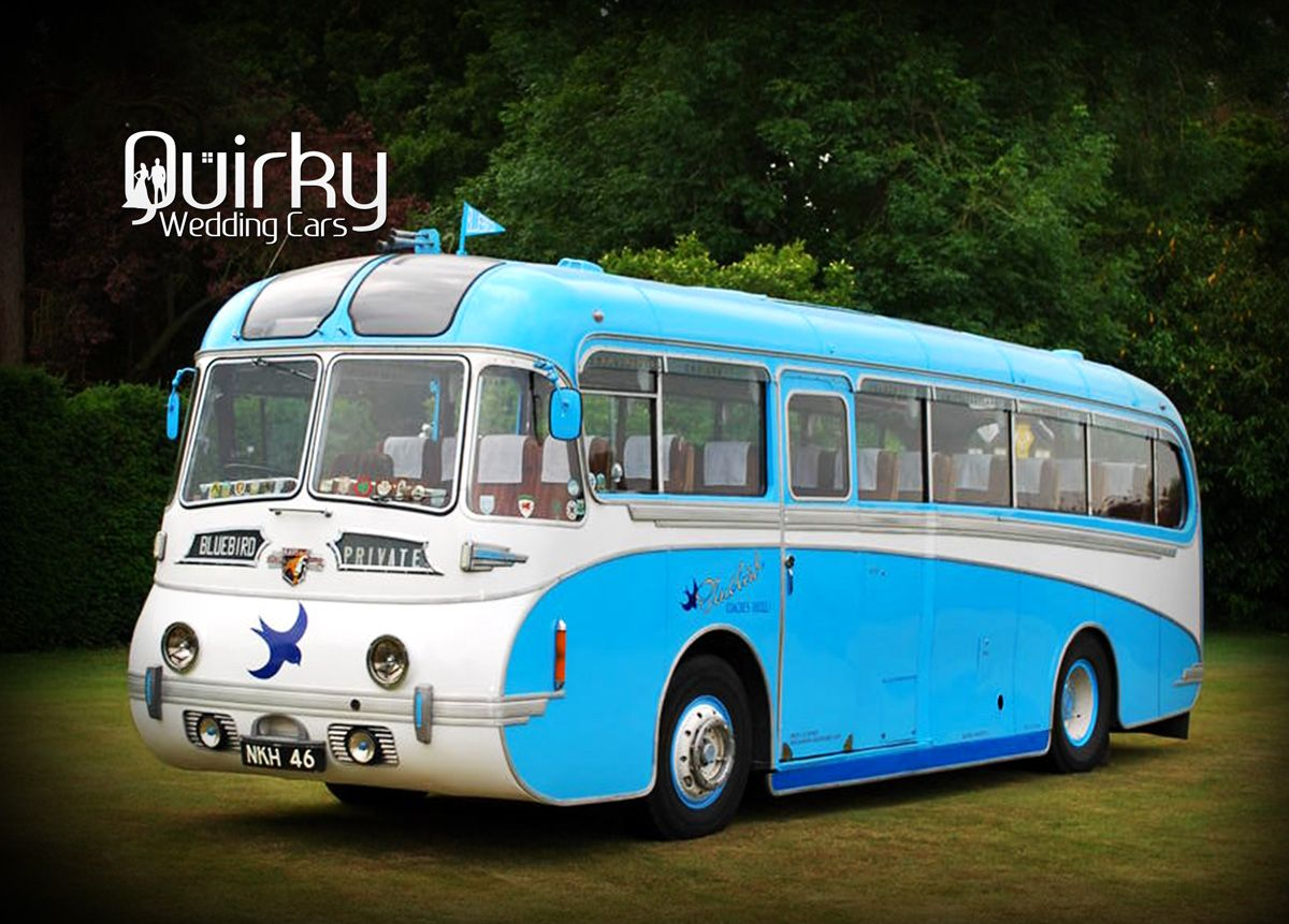 BLUEBIRD - Leyland Tiger Wedding Bus