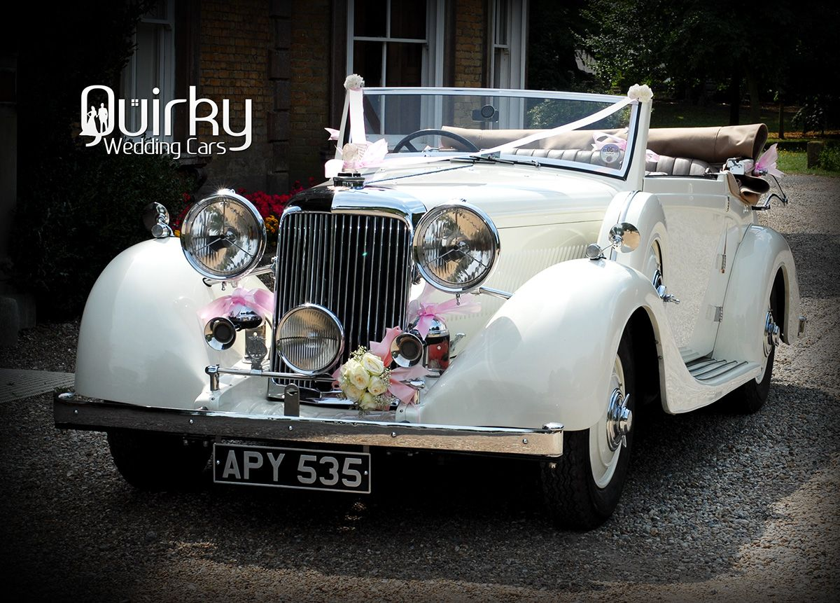 ELLA - 1938 Lammas Graham Drop Head Wedding Car