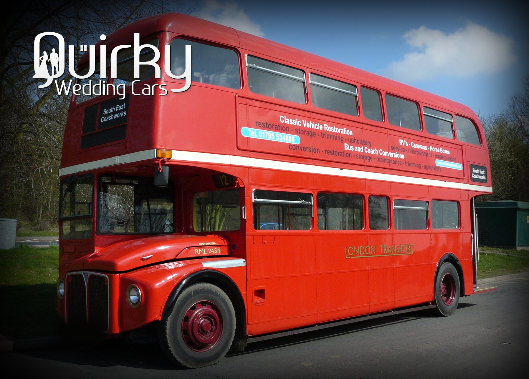 RONALD - 1966 London Routemaster Wedding Bus