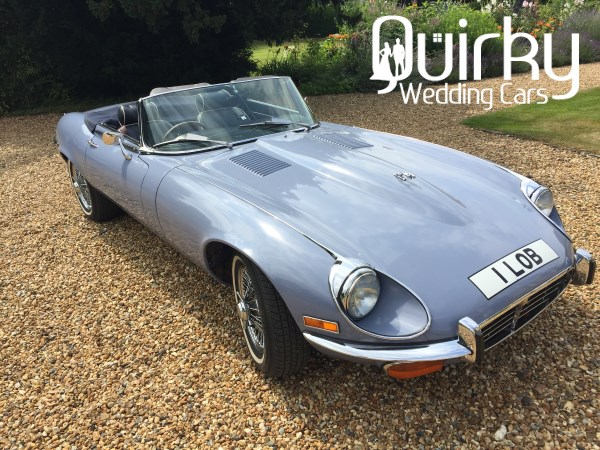 JESSICA - 1973 Jaguar E-Type Wedding Car