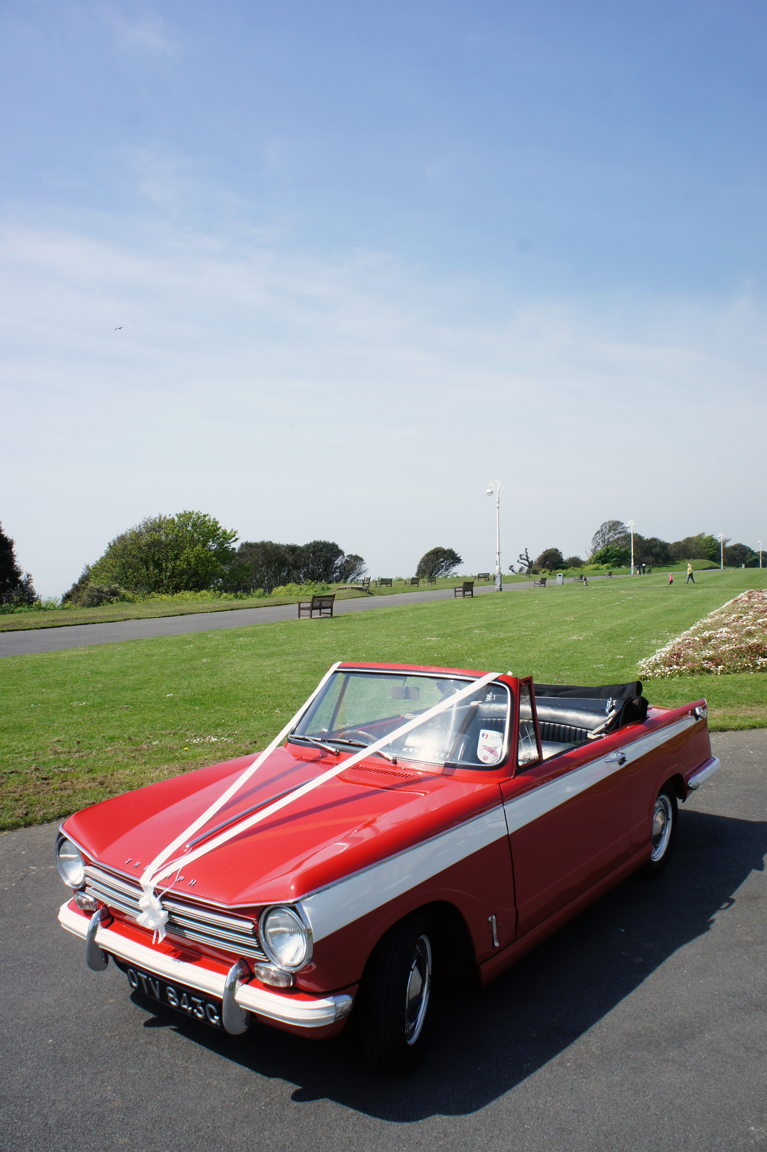 BERTIE – 1968 Triumph Herald Wedding Car in Kent