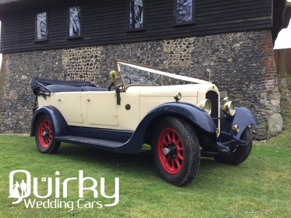 WILLIAM - 1928 Willys Knight Wedding Car