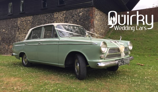 TOMMY - 1963 Ford Cortina Wedding Car