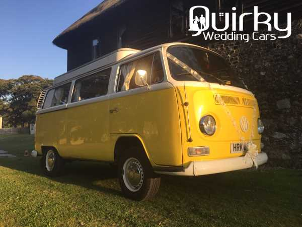 CUSTARD - VW Wedding Car