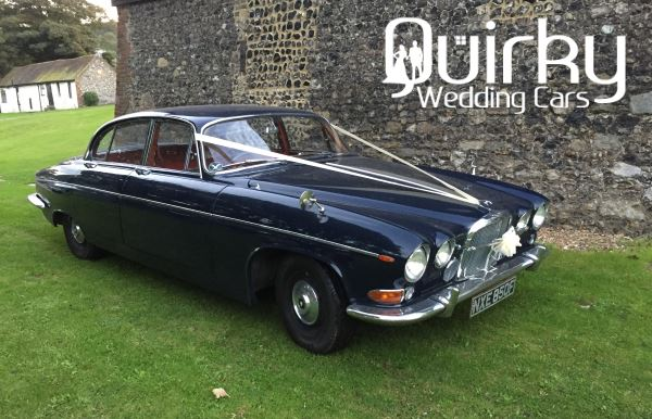 JERRY – Jaguar 420G Wedding Car in Kent
