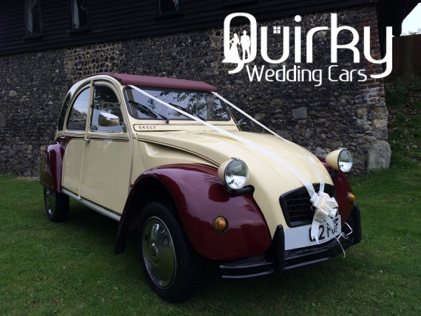 JEN - Citroen 2CV Wedding Car