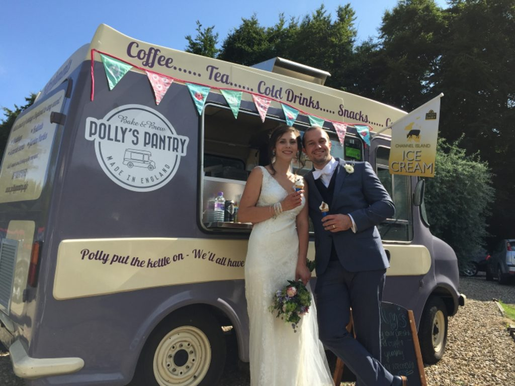 Polly's Pantry Vintage Ice Cream Van