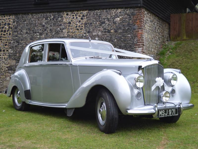 CLAIRE - 1951 Bently VI Wedding Car