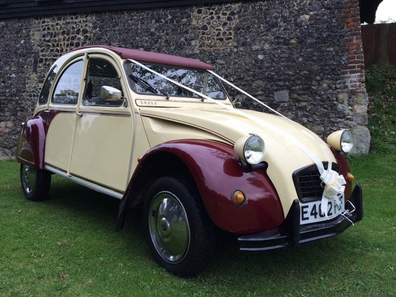 JEN – Citroen 2CV Wedding Car