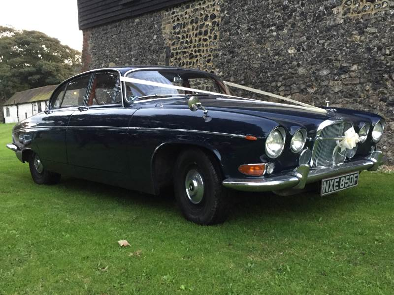JERRY - 1969 Jaguar Mk 10 420G Wedding Car