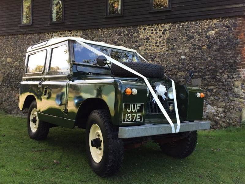 JUF - 1968 Land Rover Series IIa Wedding Car