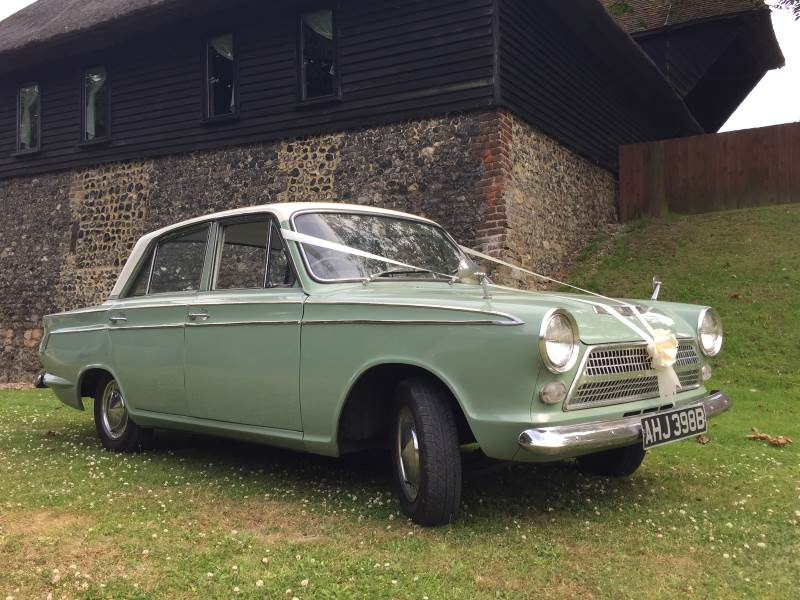 TOMMY – 1963 Ford Cortina Mk1 Wedding Car