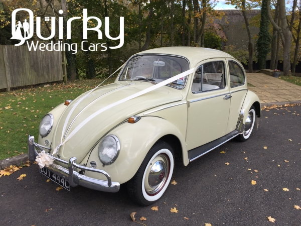 ISABELLA - 1965 VW Beetle Wedding Car