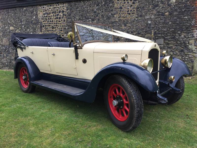 WILLIAM - 1928 Willy Knight Wedding Car