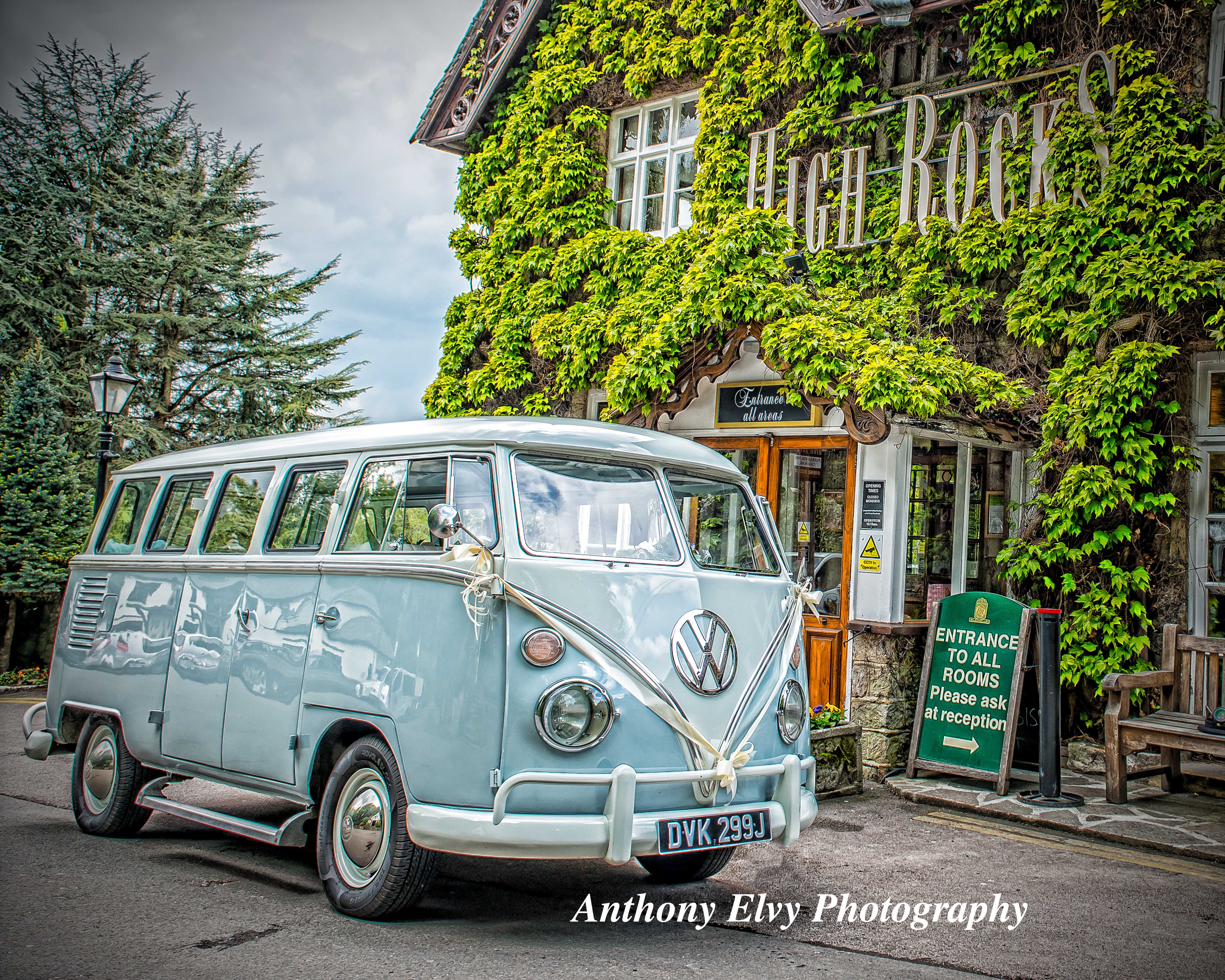 EMILY - 1971 VW Camper Van Wedding Car
