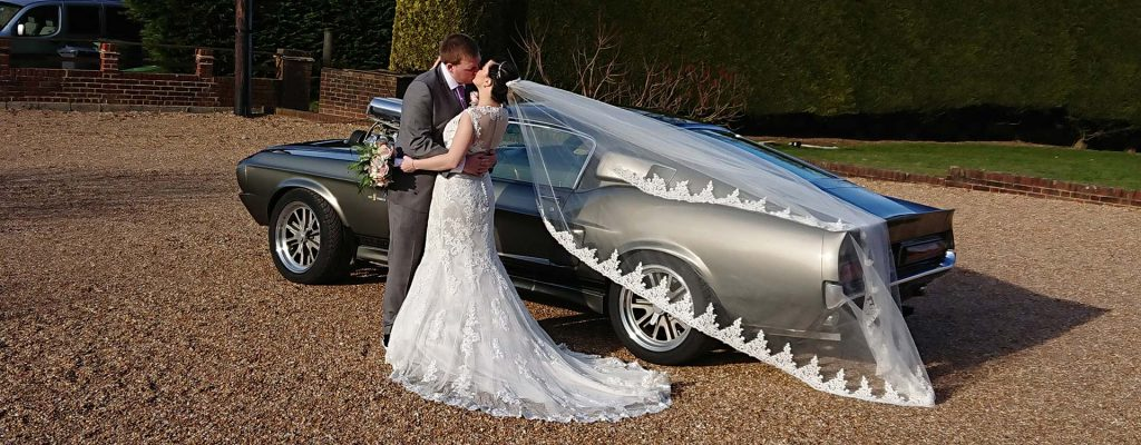 1967 Ford Mustang Wedding Car