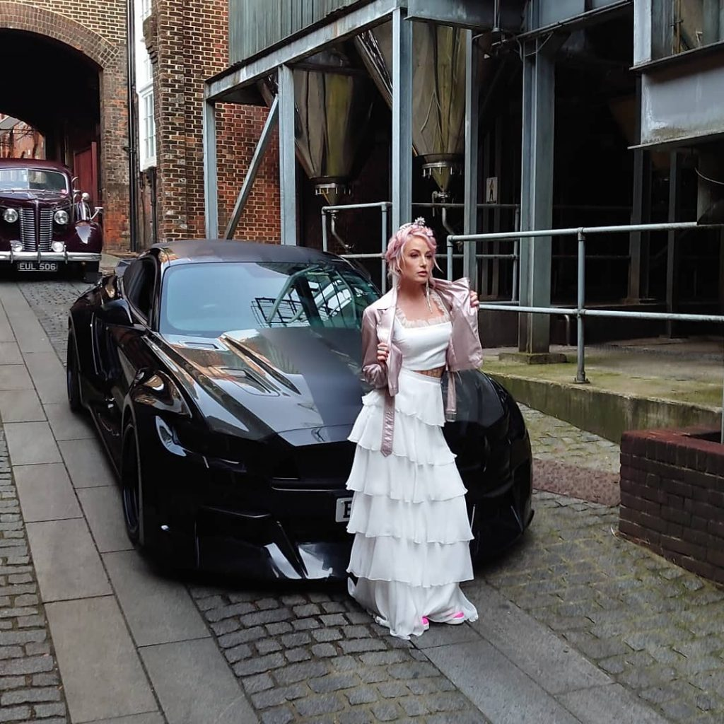 Quirky Wedding Cars - Ghost Ford Mustang