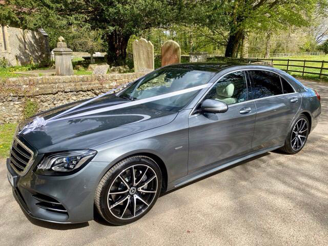 MICHAEL – Mercedes S Class Wedding Car in Kent